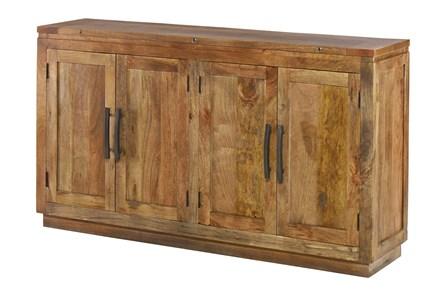 4 Door Mango Wood Sideboard