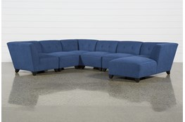 Benton II 6 Piece Sectional W/ Raf Chaise