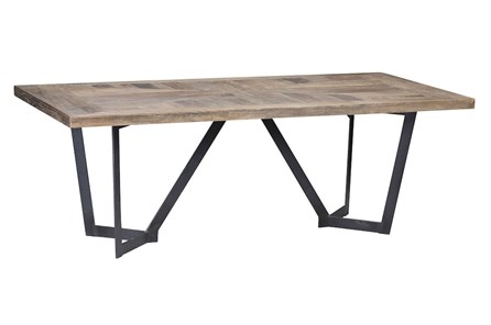Rectangle Elm Dining Table