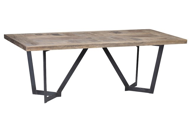 Rectangle Elm Dining Table - 360