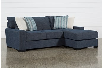 """Irwin 97"""" Sofa With Reversible Chaise"""