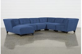 Benton II 6 Piece Sectional With Left Arm Facing Chaise