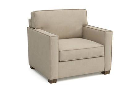 Magnolia Home Dweller Homespun Cream Chair By Joanna Gaines