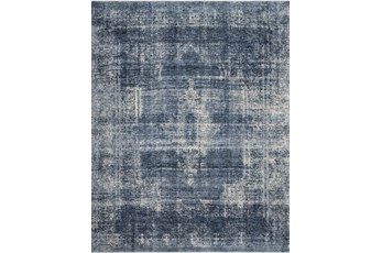 79X112 Rug-Magnolia Home Kennedy Denim/Denim By Joanna Gaines