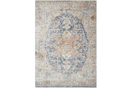 43X62 Rug-Magnolia Home Ophelia Blue/Multi By Joanna Gaines