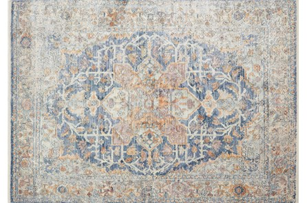 79X112 Rug-Magnolia Home Ophelia Blue/Multi By Joanna Gaines