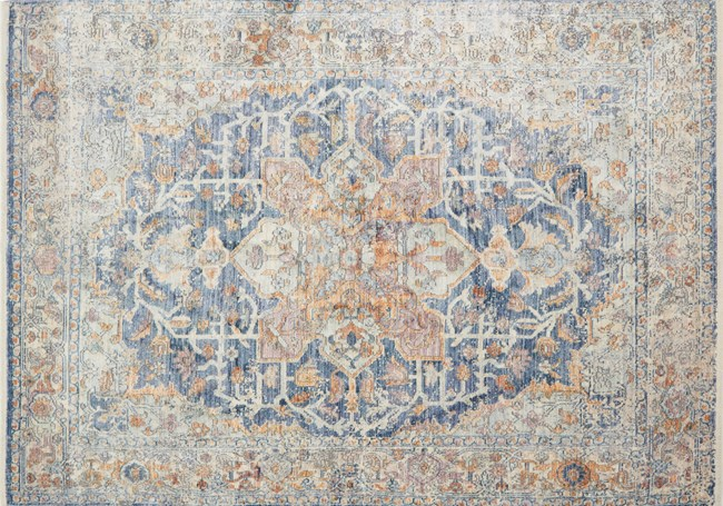 114X150 Rug-Magnolia Home Ophelia Blue/Multi By Joanna Gaines - 360