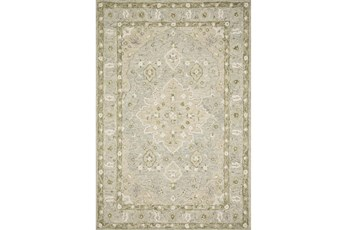30X90 Rug-Magnolia Home Ryeland Grey/Sage By Joanna Gaines