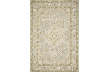 138X180 Rug-Magnolia Home Ryeland Grey/Sage By Joanna Gaines