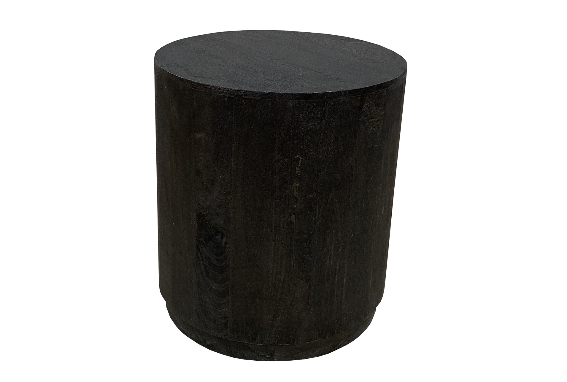 Picture of: Black Drum Accent Table Living Spaces