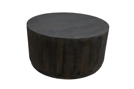 Black Drum Coffee Table