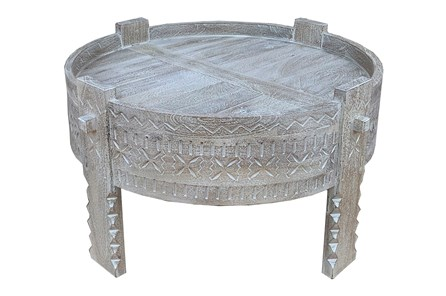 Antique White Bajot Coffee Table