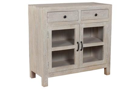 Antique 2 Drawer 2 Door Cabinet