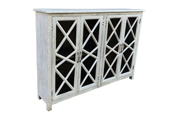 Antique White 4 Door Sideboard