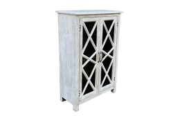 Antique White 2 Door Cabinet