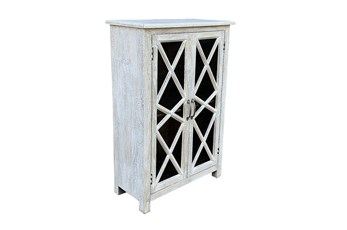 Antique White 2 Door Cabinet