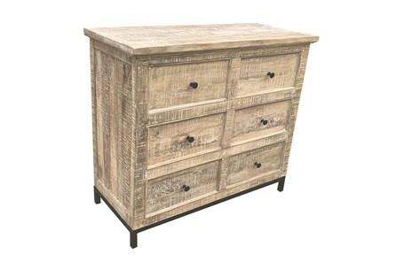 Otb Antique White 6 Drawer Dresser