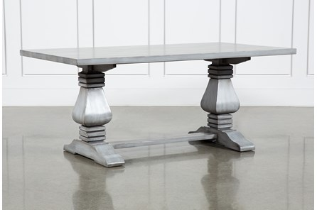 Toscana Cement 72 Inch Rectangle Dining Table