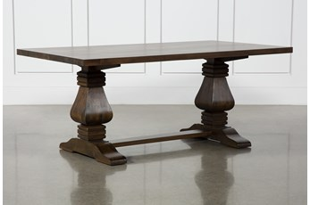 Toscana Cognac 72 Inch Rectangle Dining Table