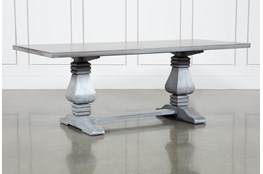 Toscana Cement 84 Inch Rectangle Dining Table