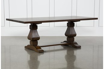 Toscana Cognac 84 Inch Rectangle Dining Table