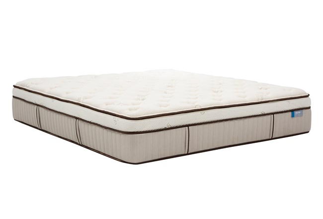Latex Choice Plush Eastern King Mattress - 360