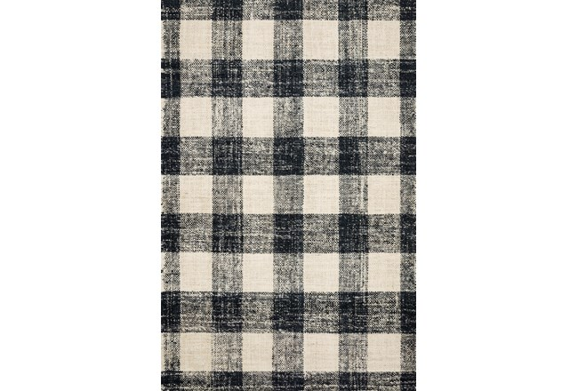 27X45 Rug-Magnolia Home Crew Black/Natural By Joanna Gaines - 360