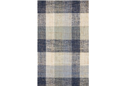 27X45 Rug-Magnolia Home Crew Blue/Multi By Joanna Gaines
