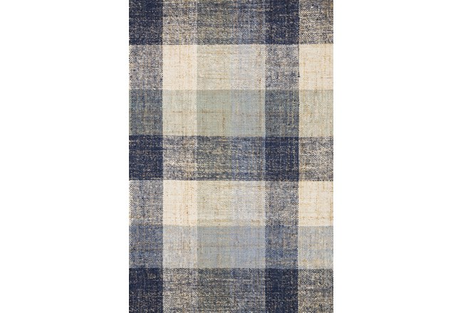 60X90 Rug-Magnolia Home Crew Blue/Multi By Joanna Gaines - 360