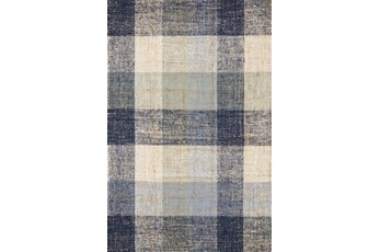 93X117 Rug-Magnolia Home Crew Blue/Multi By Joanna Gaines