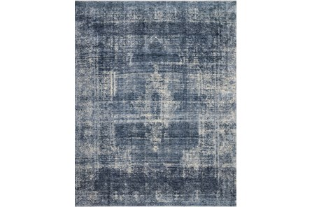 84X120 Rug-Magnolia Home Kennedy Denim/Denim By Joanna Gaines