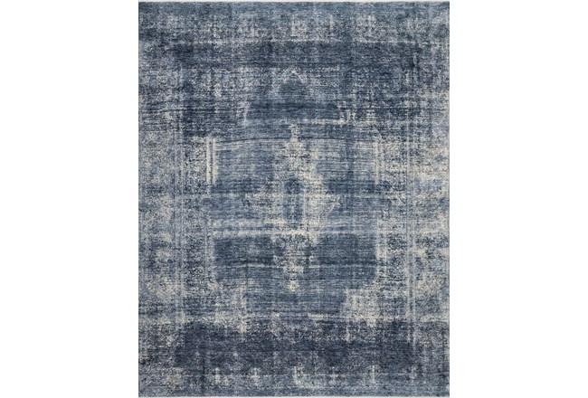 84X120 Rug-Magnolia Home Kennedy Denim/Denim By Joanna Gaines - 360