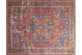 """2'3""""x3'7"""" Rug-Magnolia Home Lucca Red/Blue By Joanna Gaines"""