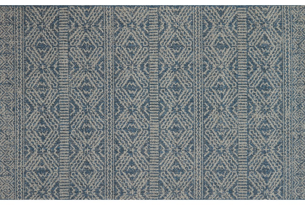 27X45 Rug-Magnolia Home Warwick Azure/Silver By Joanna Gaines