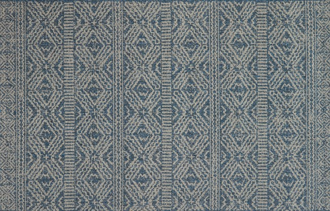 27X45 Rug-Magnolia Home Warwick Azure/Silver By Joanna Gaines - 360