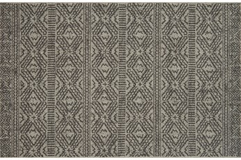 27X45 Rug-Magnolia Home Warwick Silver/Black By Joanna Gaines