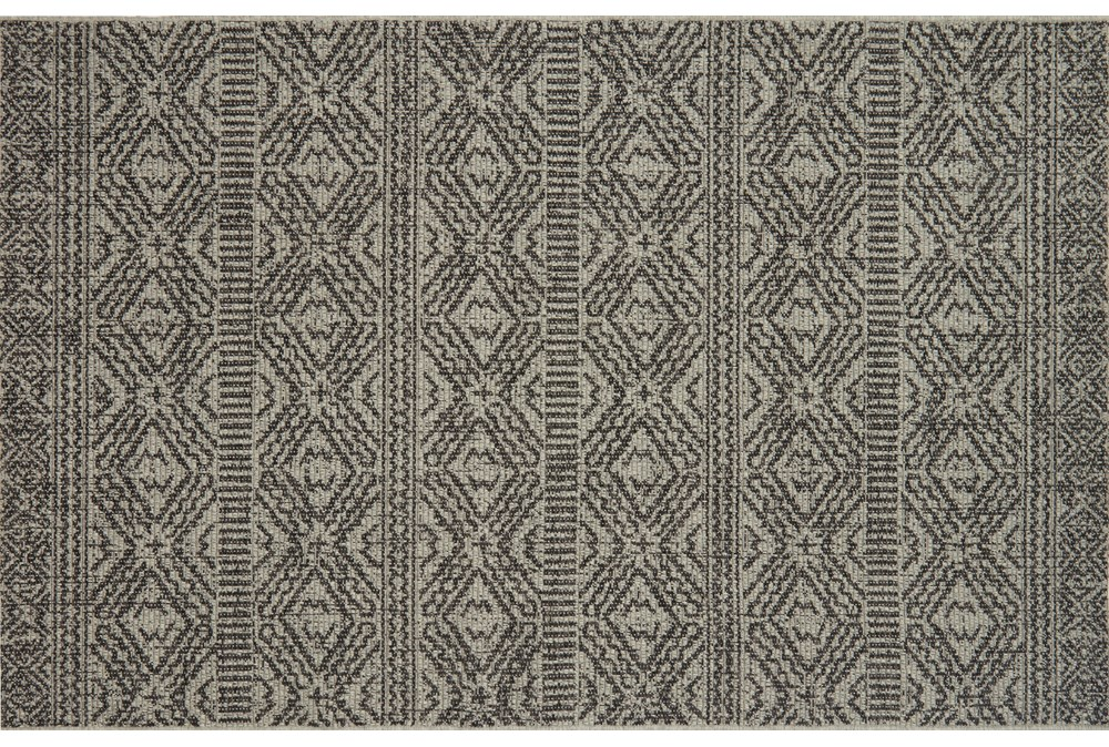 59X91 Rug-Magnolia Home Warwick Silver/Black By Joanna Gaines