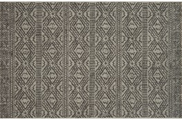 94X129 Rug-Magnolia Home Warwick Silver/Black By Joanna Gaines