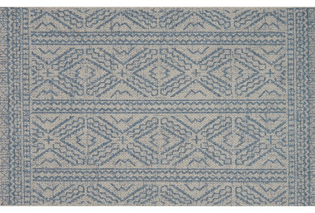 24X45 Rug-Magnolia Home Warwick Silver/Azure By Joanna Gaines - 360