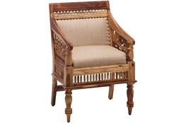Hand Carved Jodhpur Chair