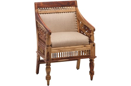 Otb Hand Carved Jodhpur Chair