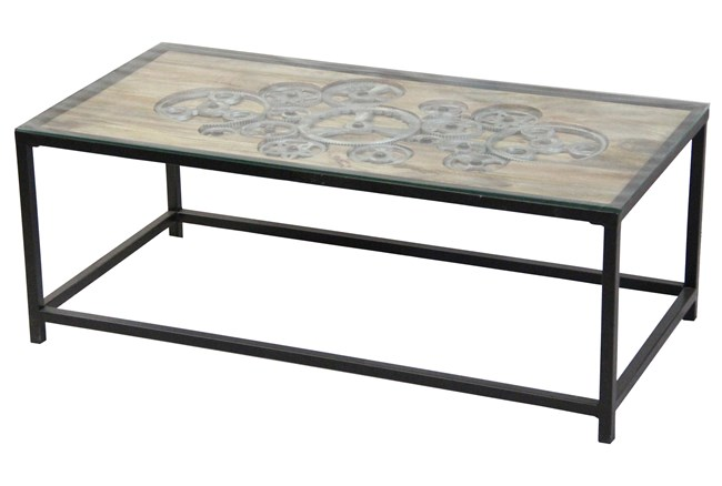 Otb Steampunk Coffee Table  - 360