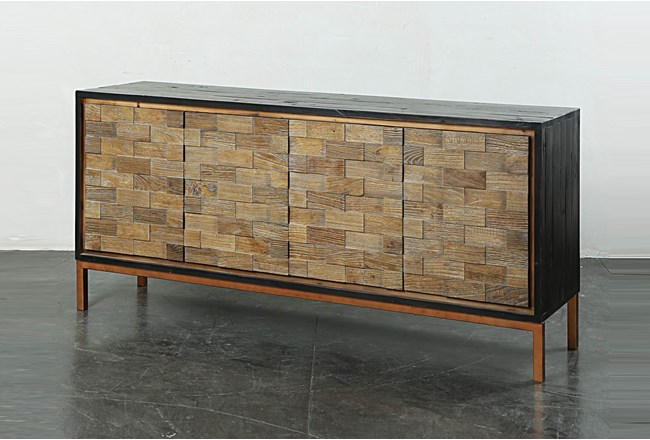 Mixed Media Antique Sideboard - 360