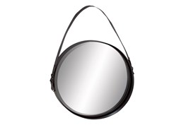 Wall Mirror-Round With Strap