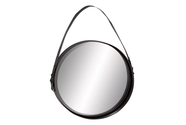 Wall Mirror-Round With Strap  - 360