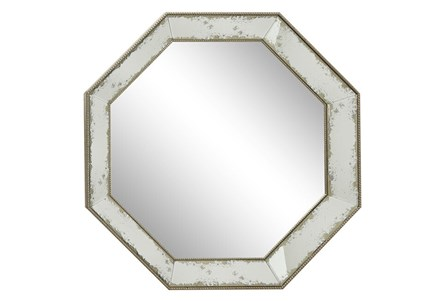 Wall Mirror-Octagon Aged 39X39