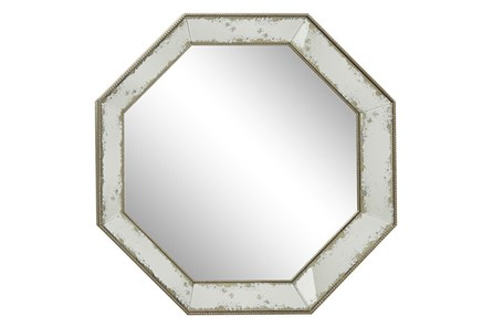 Wall Mirror-Octagon Aged 39X39 - Main