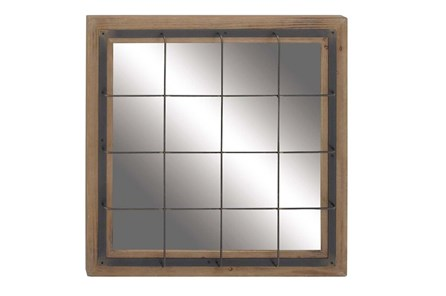 Wall Mirror-Square Grid 32X32 - Main