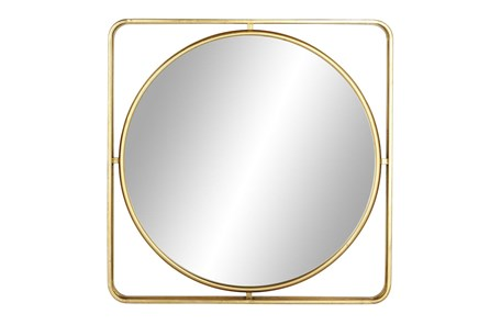 Wall Mirror-Floating Round 34X34 - Main
