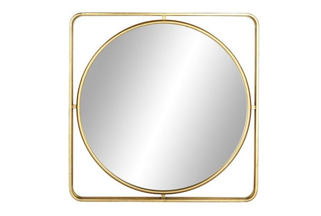 Wall Mirror-Floating Round 34X34 - 360